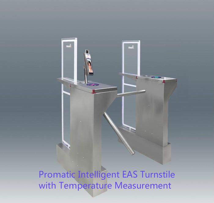 Intellignet EAS turnstile with Temperature Measurement